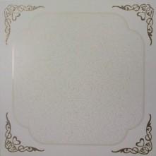 Кружевной орнамент золото 300×300 В49